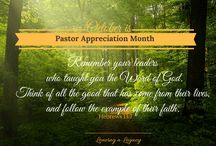For Those in Ministry / encouragement and helpful information for ministers and lay leaders