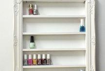 Muebles / Organiza Esmaltes / guardar almacenar mostrar esmaltes