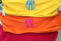 """""""If it doesn't move, monogram it!"""" / by Carrie Stallons"""