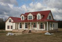 Metal building homes