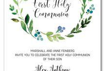 Holy communion invitation