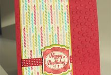Birthday Cards / Find lots of birthday card inspiration here!