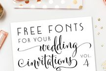 wedding stationary ideas