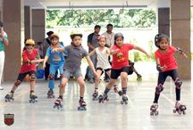 Presidians Glided Like a Pro at 1st Inter-Branch Skating Contest / When it comes to perfecting a difficult sport with a lot of hard work & motivation, Presidians possess a never-say-no spirit! Hosting 16 other Presidium branches, Presidium Dwarka-22 recently organized the 1st Inter-Presidium Skating Championship on 3rd September, 2016. The participation of 285 Presidians in 64 different skating matches displayed their great enthusiasm, team spirit and the true traits of sportsmanship.