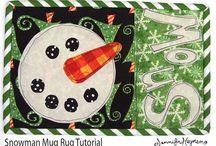 mug rug / by Ramona Peterson