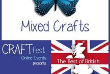 #CRAFTfest Best of British Feb 2016 - Mixed Crafts Category! / Sellers with stalls in the mixed crafts category of the Feb #CRAFTfest Best of British Event share with us their creations. http://craftfest-events.com/mixed-crafts.html
