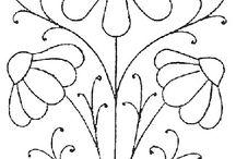 moldes de flores para p
