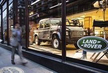 #ThrowbackThursday: The @007 Skyfall #Defender is displayed in the Harrods window, London 2012 #TBT by landrover http://ift.tt/1MH65vs