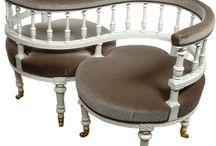 Coarting chairs love chair tete a tete