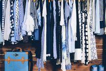 Capsule wardrobe blue
