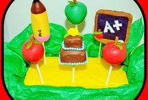 School Theme Cake Pop