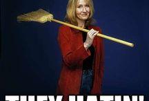 JK Rowling / by zentified