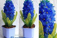 háčkované kvety