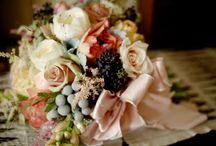 Florals We Love! / Wedding day florals we love.