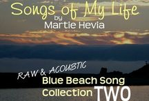 BBS Collection TWO   Songs by Martie Hevia / 'Blue Beach Song Collection: TWO   Songs of My Life by Martie Hevia' is the second album in my Blue Beach Song Collection series. As a singer-songwriter, lyrics and melody have always been the heart of my music. My original compositions intimately express my own, yet universal, emotional journeys and life stories in an Acoustic-Indie-Pop-Rock-Folk style, written for voice and guitar. The recordings are simple, acoustic, one-takes. As you will hear, I am a work in progress!
