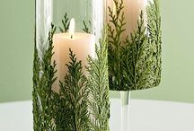 Christmas table Centrepieces