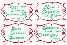 Christmas & winter / by Linda Binger