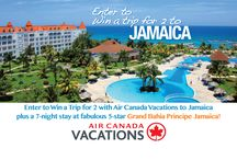 Tropical Flare Vacations Promotions / Weekly News and Updates  Enter to Win a trip for 2 to Jamaica Click on the following link and select the Contact us tab http://www.tropicalflarevacations.ca/main