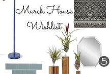 Laurel House Project Wishlists / Monthly fashion and home decor wishlists and lists found at http://www.laurelhouseproject.com / by Kirsten C