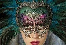 makeup mask masquerade