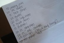 Fitness / by KaTie McFarland