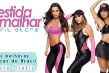 Nova Coleção Rola Moça / Modelos incríveis de Moda Esportiva