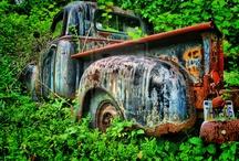 Nature / Abandoned vehicles