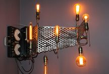 steampunk lighting / steampunk lighting