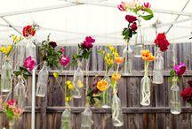 Decorando com flores / flowers in decor