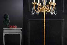 Wrought iron floor lamps / Wrought iron floor lamps in many different styles