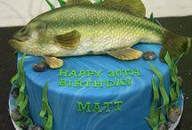 George's fishing birthday