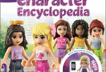Lego Friends Character Encyclopedia [Hardcover]--New Arrival