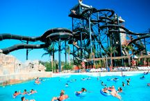 Six Flags Hurricane Harbor / Dive into the wet and wild world of Six Flags Hurricane Harbor, and splish-splash all over this 22-acre Southern California water park.  #SixFlags