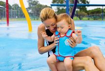 Baby's First Swim Tips / (By Zoggs 'Learn to Swim' Ambassador Simone Benhayon - ASA Swim Teacher of the Year) Going swimming with your baby for the first time is a new experience for you both to savour. Excitement can give way to apprehension, but if you know what to expect then you can get the most out of swimming with your child from the word go.