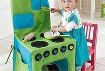 Kinderküche nähen