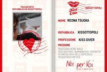 Kiss Givers / I Super Eroi si stanno imbarcando! Richiedi anche tu il tuo passaporto! Gioca subito su www.kissotto.it e potrai vincere una tessera Giunti dal valore di 13€
