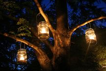 How to use oil lamps in the garden / oil lamps in gardens