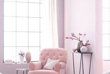 Déco rose / Du rose pour la déco de votre intérieur  ? Voici de belles inspirations pour cette couleur très douce et féminine pour un intérieur déco en rose.