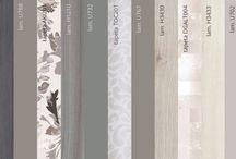 Najlepšie nápady na kombinácie farieb a materiálov / Best material design color combinations