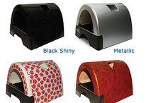 Kitty A Go-Go Litter Box / For cats who believe in going in style...Revolutionizing the cat litter box with style, personality, function and quality.