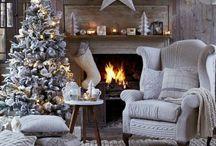 Aux couleurs de Noël ! / Ce tableau est consacré aux intérieurs décorés pour les fêtes de fin d'année !