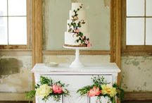 Wedding cake displays