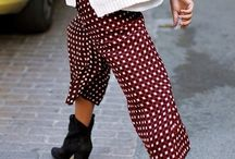 Printed Pants | Trousers