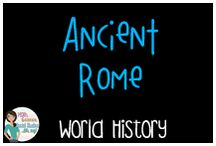 World History:  Ancient Rome / Teaching resources for Ancient Rome