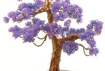 дерево из бис