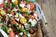 Salate / Ruccola Brot Salat
