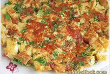 Bayay ekmek omleti