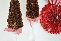 christmas crafts / by Nikki Krattiger