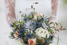 Harburn House Wedding Flowers July 2016