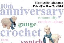 10th Anniversary Crochet Retreat / February 27-March 2, 2014 in Huntsville, AL. Read all the details and get registration information here: http://crochetville.com/register-crochet-retreat/ / by Crochetville